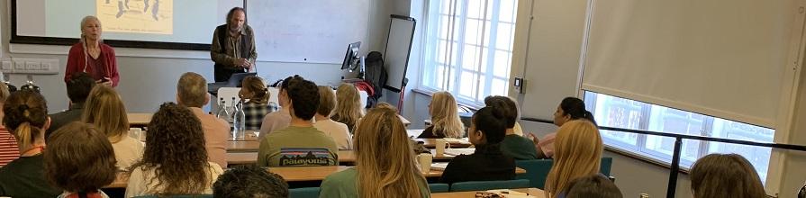Dr Joel and Michelle Levey deliver compassion workshop at City