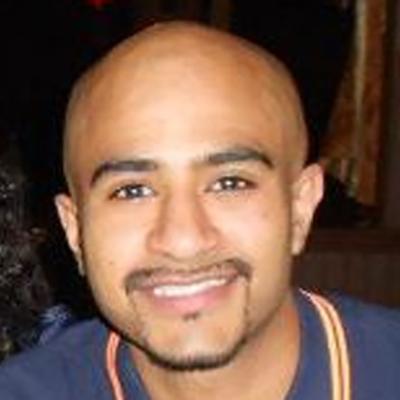 Shamil Parbhoo smiling
