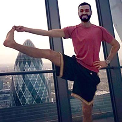Jon Cinque teaches Vinyasa flow yoga at CitySport