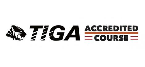 Tiga. Accredited course.