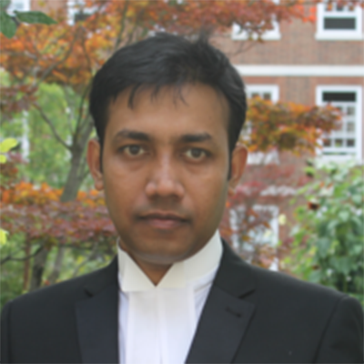 Saumitra Sarder is a student ambassador standing on campus