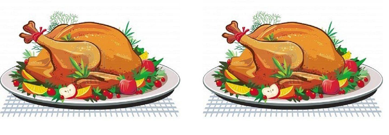 image of a christmas turkey