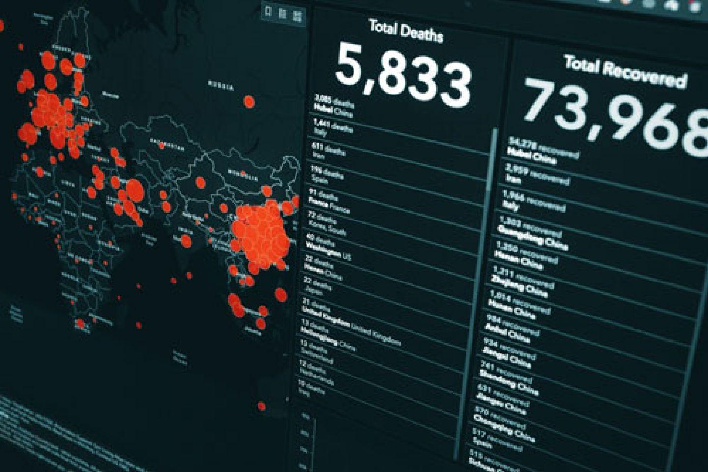 Data journalism visualisation
