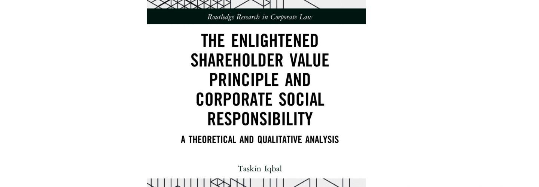 Enlightened Shareholder book cover banner.
