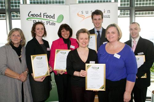 City University London receives Good Food Award