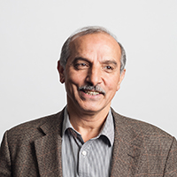 portrait of Professor Jamshid M Nouri