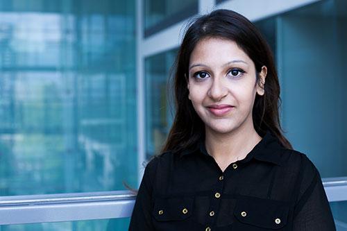 City Sociology course student Rima Saini