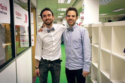 Frank Milani Matt Sandrini Founders Popcord