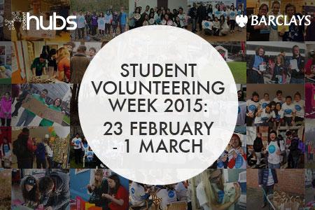 City students take part in Student Volunteering Week