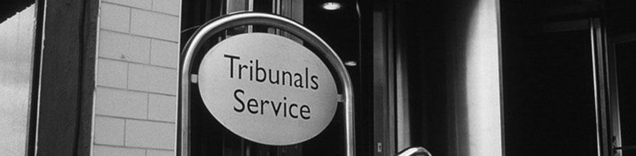 Tribunals Service sign