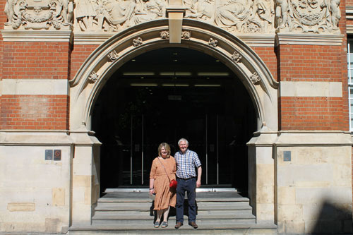 Couple who met at City return after 35 years