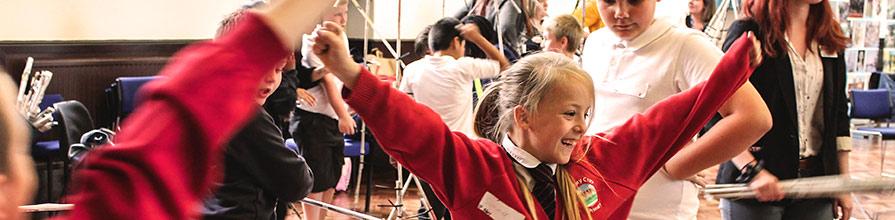 Widening participation school visit activities