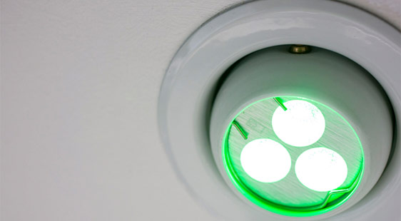 A modern energy-saving light fitting