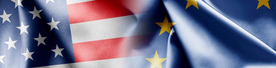 Safe harbour - U.S. and E.U. flags