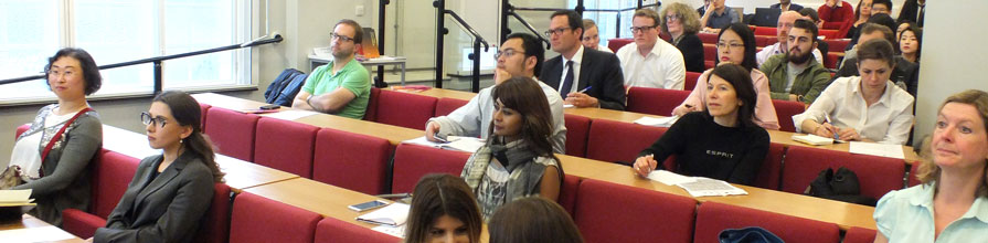 Oil and Gas Research Group Seminar audience