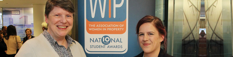 Civil Engineering with Architecture student Amy Leggett-Auld City University Prize Winter women in property