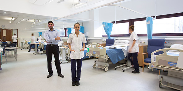 City's Clinical Skills Centre in the School of Health Sciences