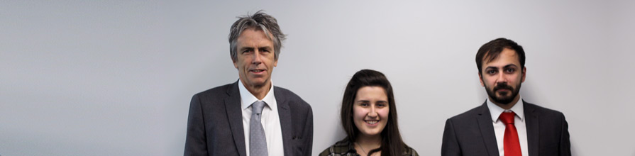 Gabriella Soffer with Dean Roger Crouch and
