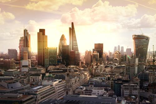 London skyline including St Pauls