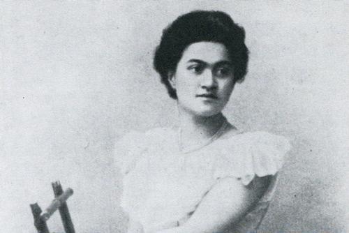 female composer Leokadiya Kashperova. Dr Graham Griffiths research