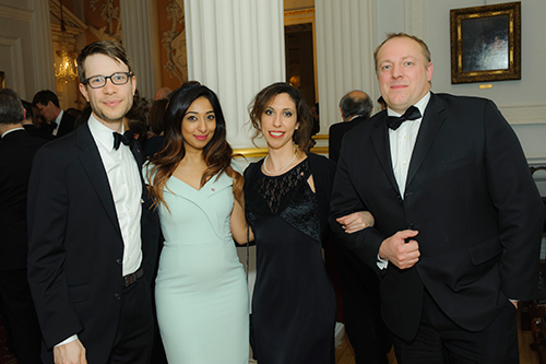 Guests at the Mansion House for the Rector's Dinner 2017