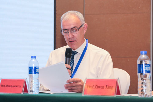 City Engineering Professor delivers keynote address in China