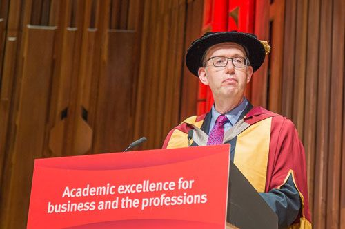 City Confers Honorary Doctorate On Professor Anthony