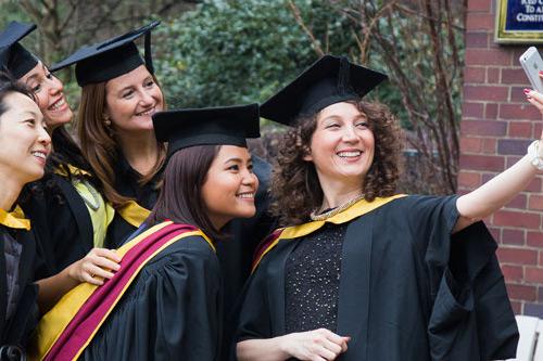 City students celebrate graduation