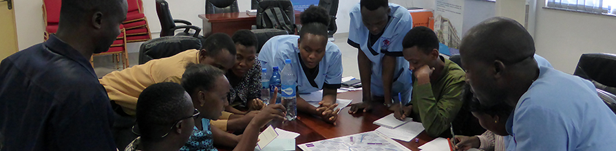 Nurses at Beira Hospital in Mozambique uses Drug Round game