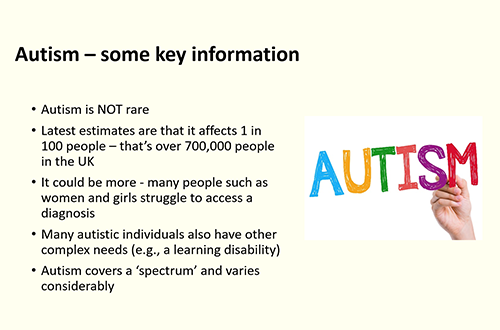 Autism fact slide