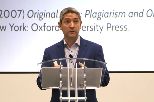 Professor Miguel Mera gives his Inaugural Lecture