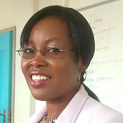 Dr Agatha Bula smiling