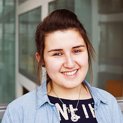 Gabriella Soffer smiling