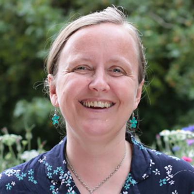 Kath Dalmeny smiling