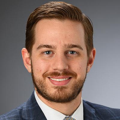Alumni ambassador Evan Stisser