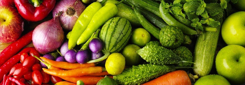 Mixture of organic vegetables