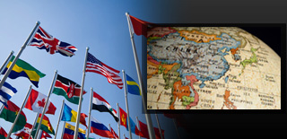 International Opportunities page banner