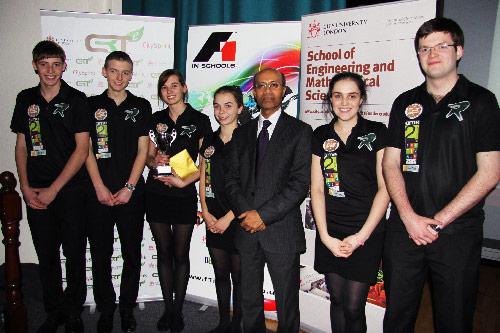 City University London hosts F1 in Schools Regional Final