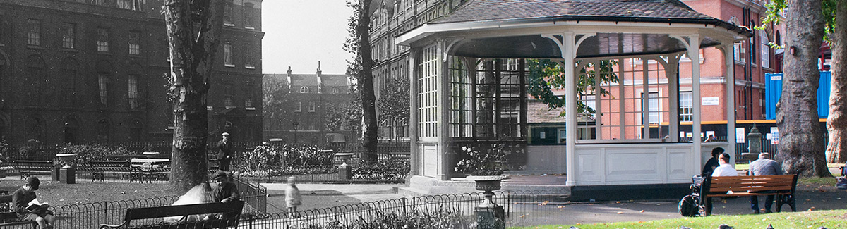 City of Londons oldest bandstand