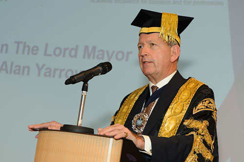 City celebrates success and welcomes new Chancellor at the meeting of the Court
