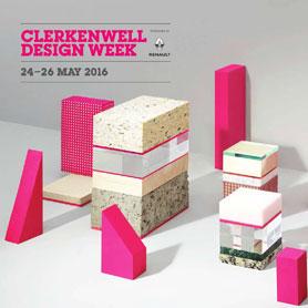 Clerkenwell design Week 24-26 May 2016
