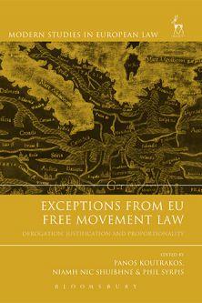 Professor Panos Koutrakos EU Freedom of Movement