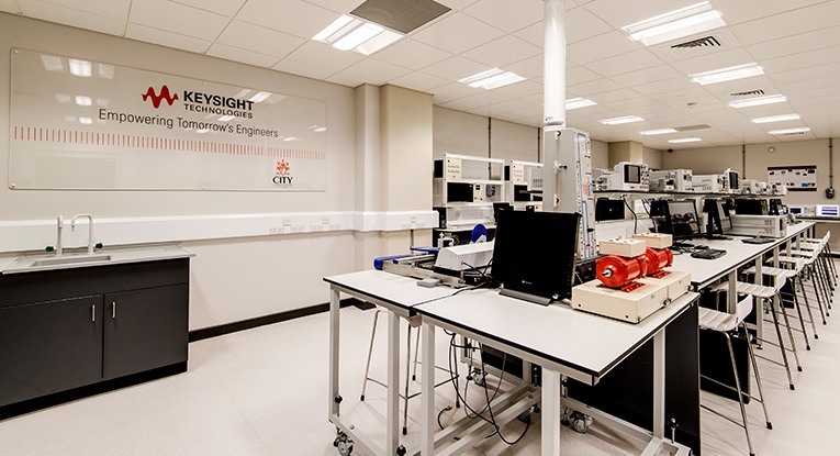 Keysight laboratory