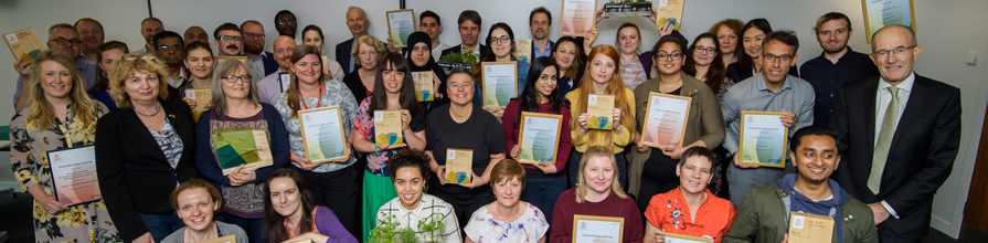 The Sustainability Awards 2017 winners