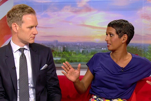 Naga Munchetty on BBC Breakfast