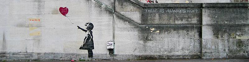 BanksyGirl hero