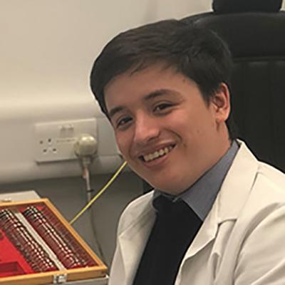 Dan Chung is a BSc Optometry student