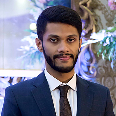 Arsim Zubair is an MSc Health Management student