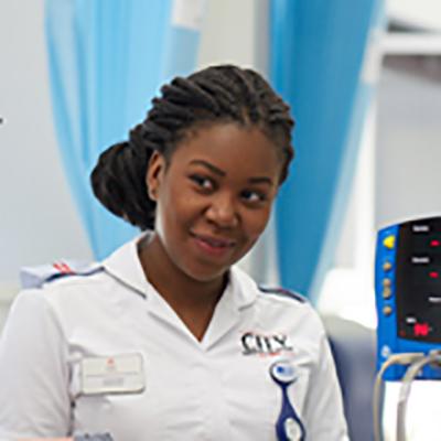 Jordine Reid is a BSc Adult Nursing student