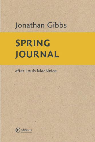 Spring Journal by Dr Jonathan Gibbs
